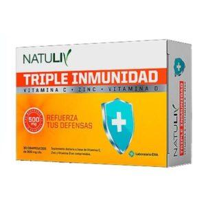 Natuliv Triple Inmunidad Comp x 30
